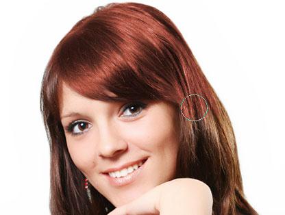 скачать фотошоп меняем цвет волос